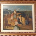 Ado Malagoli, Pessoasi, òleo s/tela, 45cm x 55cm