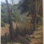 Bustamante Sá, Paisagem , óleo s\tela, 80 x 65cm