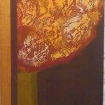 Glênio Bianchetti, s/título 1969, Acrílico s/eucatex, 66 x 26 cm