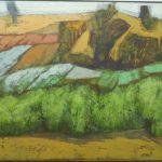 Glênio Bianchetti, Paisagem/ 1978, Acrílico s/Vinil Encerado S/madeira, 55 x 77 cm