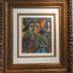 Emiliano Di Cavalcanti, Colombinas 1956, òleo s/tela, 40 x 34 cm