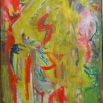 Jorge Guinle, Abstrato 1979, óleo s/tela, 131 x 92 cm