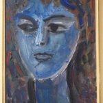 Iberê Camargo, Figura 1988, óleo s/tela, 35 x 25 cm