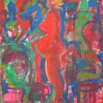Jorge Guinle/1980, Grávida,  Òleo s/tela, 120 x 100 cm