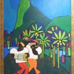 Nelson Jungbluth, Rio  1972, acrílico s/tela , 100 x 70 cm