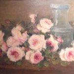 Leopoldo Gotuzzo,  Flores e Vaso - 1943, óleo s/ tela  53 x 68 cm