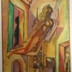 Emiliano Di Cavalcanti, s/título, Técnica mista aquarelada, 1961, 39 x 29 cm