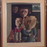 Inos Corradin, Família, òleo s/tela, 69 x 59cm