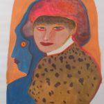 Siron Franco,  Figuras 1996 , Guache, 70 x 50 cm