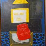 Siron Franco, Homenagem à Chico Mendes,  acrílico s/ tela, 110 x 90 cm