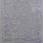 Tarsila do Amaral, Crianças, Gravura em metal  s/cartão, 15 x 15cm