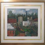 Aldo Bonadei, Paisagem - 1944, Óleo s/ tela, 59 x 65 cm