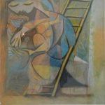 Pablo Picasso, Poster de Exposição  no George Pompidou, Reprodução gráfica 1970, 77 x 60 cm