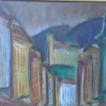 Carlos Bracher; Ladeira e Igreja São José/Ouro Preto 1986 , Óleo s/ tela, 60 x 81 cm
