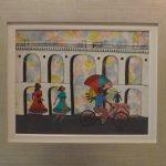 Heitor dos Prazeres. Arcos da Lapa II. Óleo s/ madeira, 29x38cm