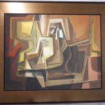 Roberto Burle Marx,S/título 1981, óleo s/ tela, 70 x 90 cm