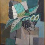 Roberto Burle Marx, Natureza Morta, óleo s/ tela, 55 x 46 cm