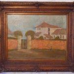 Benedito Calixto, Fazenda Arapiraca Campos do Jordão, òleo s/ tela, 53 x 42 cmp
