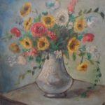 Anita Malfatti, Vaso de flores, òleo s/tela, 50 x 40 cm