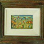 Anita Malfatti, Festa São João 1940, óleo s/eucatex, 18 x 28 cm