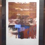 Carlos Vergara, Abstrato , aquarela P/A, 100 x 70cm