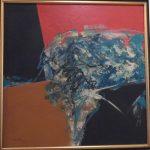 Manabu Mabe,Abstrato 1984,acrílico s/tela,51x51cmpe