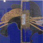 Kasuo Wakabayashi, Kansashi 013, serigrafia 29/100,40x40cm