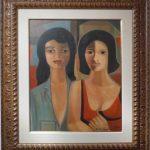 Emiliano Di Cavalcanti, Duas Mulheres/1972, òleo s/tela, 60 x 50cm