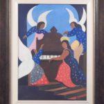 Djanira da Motta e Silva, Anjos, òleo s/tela , 69 x 49 cm