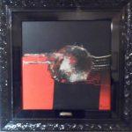 Manabu Mabe, Abstrato 1980, acrílico s/tela, 49x49cm