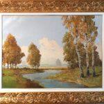 Hans Stainer, Paisagem, óleo s/ tela, 60 x 80 cm