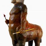 Caé Braga, escultura em terracota e resina