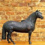 Caé Braga, escultura em bronze