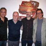 Anaurelino, Britto Velho, Francisco Alves e Eduardo Vieira da Cunha