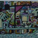 Marcos Tabbal – Zona Litorânea – Técnica Mista s/tela – 80 x 120 cm