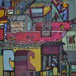 Marcos Tabbal – Zona Litorânea – Técnica Mista s/tela – 40 x 40 cm
