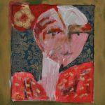 Daisy Viola – Eus - Pintura, colagem, desenho, 79 x 70 cm