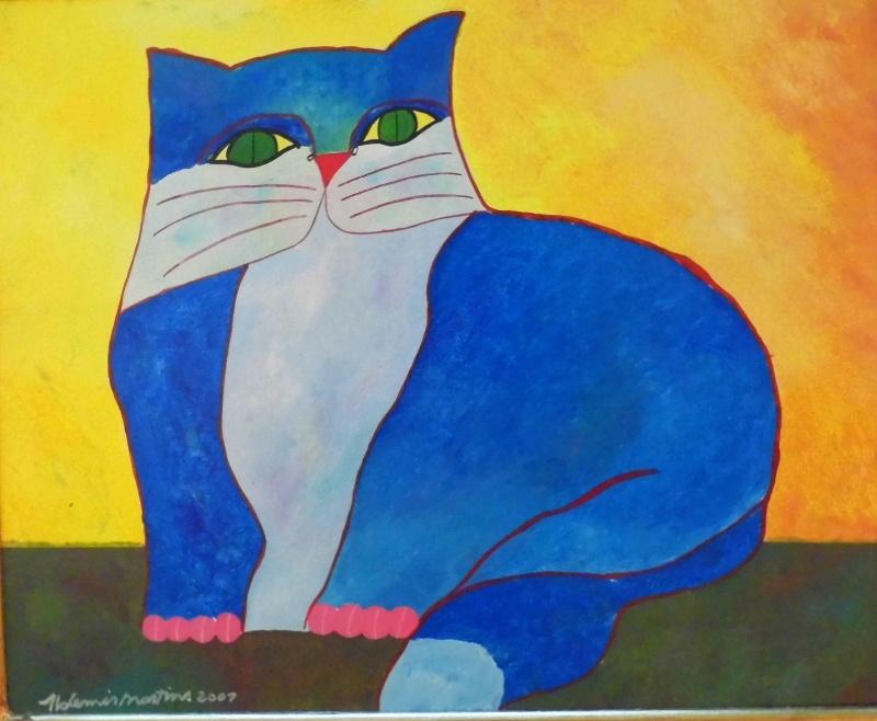 Resultado de imagem para aldemir martins gato